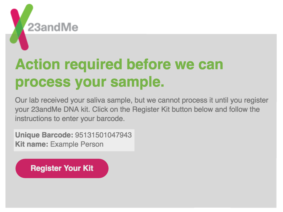 How Can I Register If I Already Returned My Kit? – 23andMe